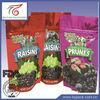 Resealable printed zip lock plastic bag/Raisins bag
