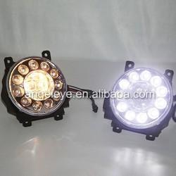 For TOYOTA Land Cruiser FJ200 Fog Light LED Daytime Running Light 2012-2014 year V1