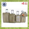 alibaba china yellow snake skin 5 pcs cheap price luggage set nigeria market