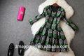 2015 frau kleid mode basierend auf neuesten europäischen stil made in china