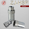 ZJ-HSP 1/8 quick coupling and brass garden hose machined connections