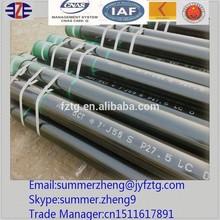 fluid welded stainless steel pipe