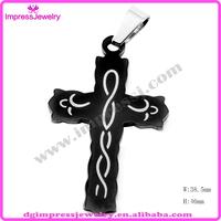 IPB stainless steel pendant wholesale large celtic cross pendant