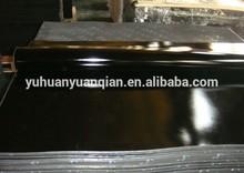 black shiny sheet