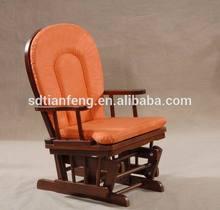 Orange Baby Glider Chair