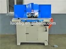 Double head 45 degree semi-automatic aluminum picture frame cutting machine for wood aluminum materials LGJ-350-2A