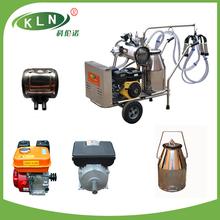 KLN gasoline engine with vacuum pump type milking trolley