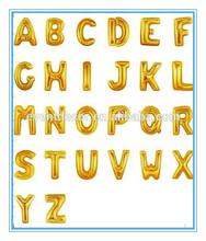 Gold or Silver Foil Letter Balloon Jumbo Balloon Custom Letters You Pick