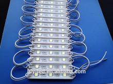 3 chips 5050 led smd module 12v waterproof