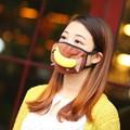 oinverno mais quente cartoon pouco mouse pássaro máscara de alta qualidade