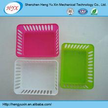 various plastic basket, new plastic food basket,storage plastic laundry basket