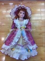Custom Barbiee full body Handmade Party Clothes Fashion Dress ceramic Doll
