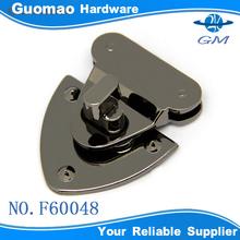 Special handbag gunmetal accessories lock for ladies handbag