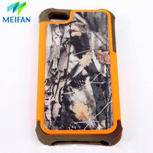 2015 latest fashion design silicone +PC printing mobile phone case for iphone 4