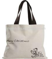 Custom 100% cotton shopping bags/cotton tote bag/canvas cotton bag manufacturer