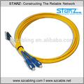 Monomodo SC-LC Duplex de fibra óptica Cable de fibra óptica Patch Cord