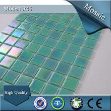 R45 foshan discount diamond series living room wall glass mosaic tile
