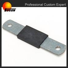rubber metal bonding, small rubber bumper, rubber bumper metral