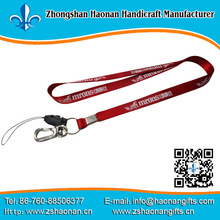 wholesale lanyards/strap product design own logo/website/phone informatiom textile fabric printed band no min order