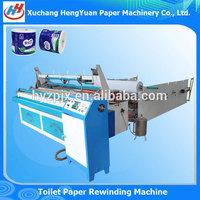 Toilet Tissue Paper Machine , Automatic Rewinding Machine