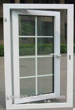 popular plastic 3 panel triple pvc casement window