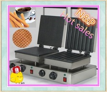 Commercial rectangle and churro electric waffle maker/waffle hot dog machine/waffle cone maker for sale Model EB-CCR