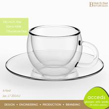 Unbreakable Kids Used Borosicilate Glass Coffee Cup