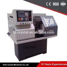 mini etkili cnc torna makinesi fiyat metal kesme ck0640a