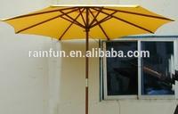 2014 diameter 1.8m X 8K wooden patio umbrella
