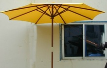 2014 diameter 1.8m X 8K wooden patio umbrella
