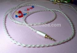 PE/Telfon jacket Headphone wire
