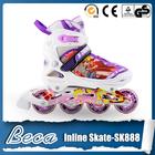 Wholesales 2014 latest adjustable 4 wheels stitching inline skate