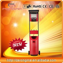 WARM!!! New style Good quality multi-protection Freestanding Energy-efficient Outdoor Portable gas heater for terraces