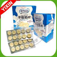 10pcs dry milk tablet candy