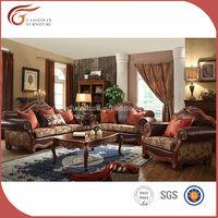 Italian pure leather office sofa set A90