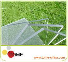 delgada hoja de plástico transparente 5mm