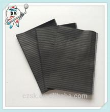 2014 Nice dentist disposable dental bib paper tissue disposable bib disposable black medical bib
