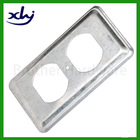 galvanized steel junction outlet box metal raised device cover