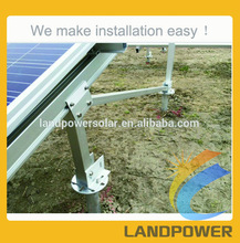 Solar Module Racking Frame, Solar PV Ground Mounted Racking Systems, Solar Ground Structure