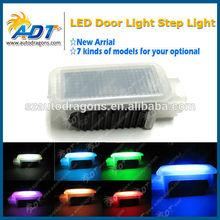 multicolor RGB car led courtesy light led welcome light car logo laser door light