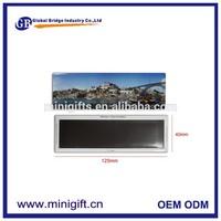 Custom souvenir tin plate fridge magnet, metal tin magnetic fridge , tinplate refrigerator magnet