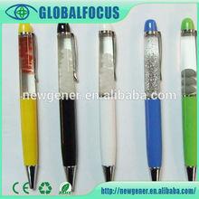 2014 Factory Custom logo Floater pen for promotion