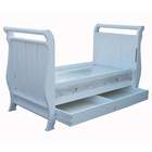 3 in 1 wooden baby crib / baby bed / baby cot BC-002