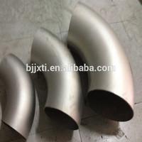 welding gr2 titanium pipe fitting