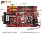 RGB led control card, USB led controller, led pixel screen control card LS-T1(COM&USB) pixel 2048*64