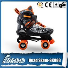 Import fashion attractive high quanlity lasting quad skates on sales