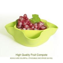 CO-MOLD PP Fruit Salad Recipe Dish/Plate/Bowl