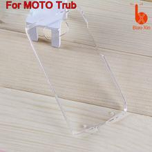 china supplier unbreakable Plain Plastic phone case for MOTO Trub