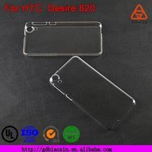 Alibaba China Wholesale Custom rigid plastic phone case for HTC Desire 820