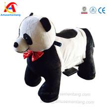 at0607 amusementang 2015 novas crianças brinquedo animal elétrica carros para crianças panda brinquedo do passeio carro elétrico do brinquedo animal andando